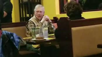 McConnell defiant after demonstrator tried disrupting his dinner: 'I enjoyed my meal'