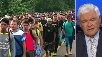 Newt Gingrich: Migrant caravan on the march -- What we must do if (or when) the caravan arrives at our border