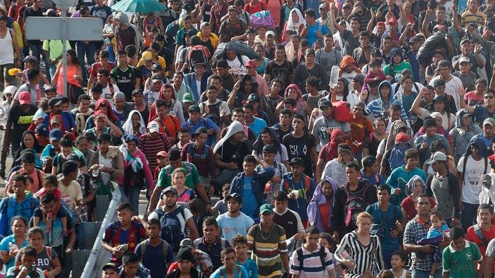 Migrant caravan becomes growing part of GOP midterm campaign