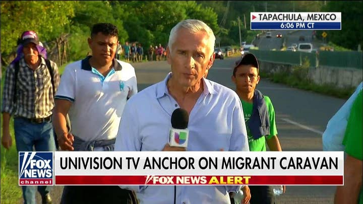 Jorge Ramos Reports from Mexico on Caravan from Central America