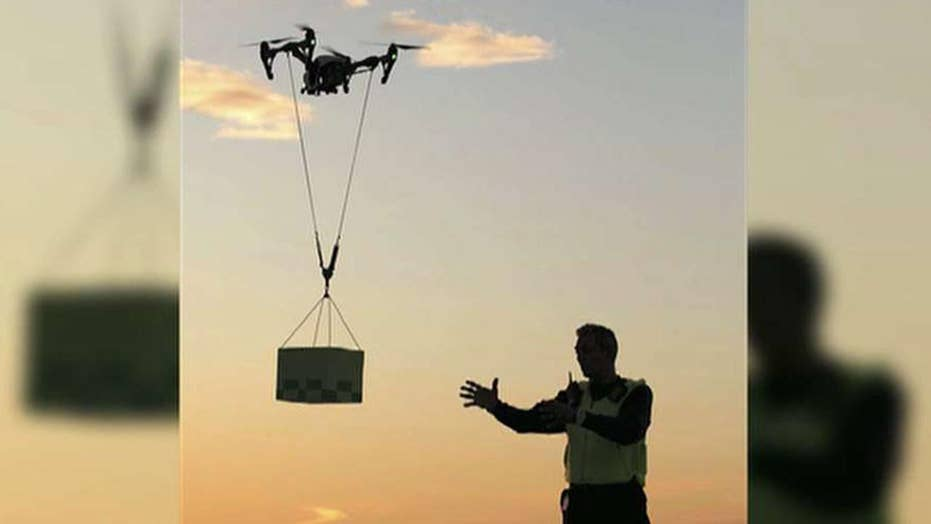 Uber hopes to have meal delivery drones by 2021