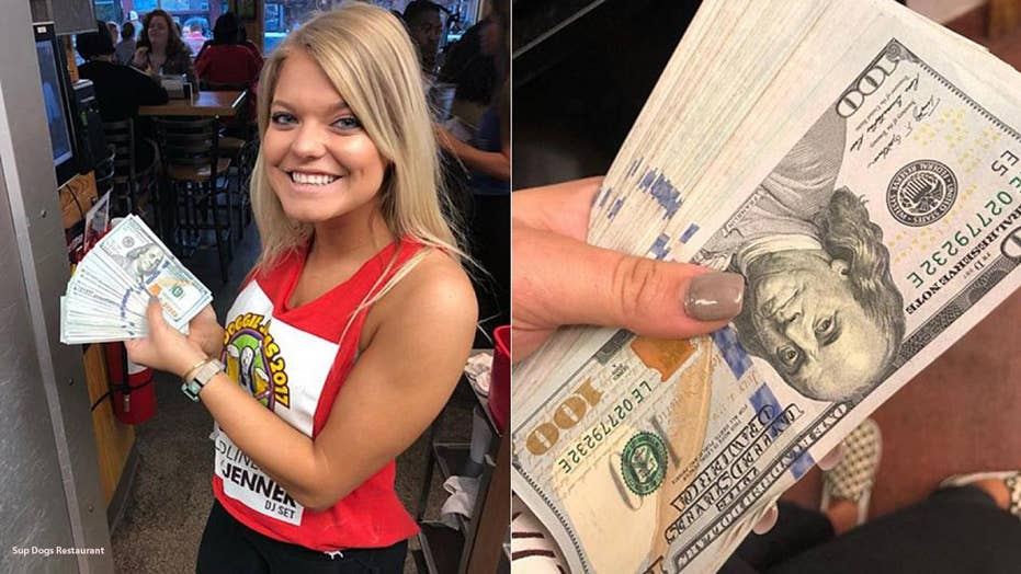 Restaurant server given $10,000 cash tip by YouTube patron
