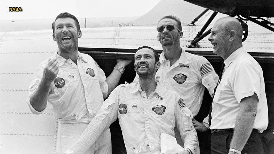 NASA celebrates 50th anniversary of historic Apollo 7 mission
