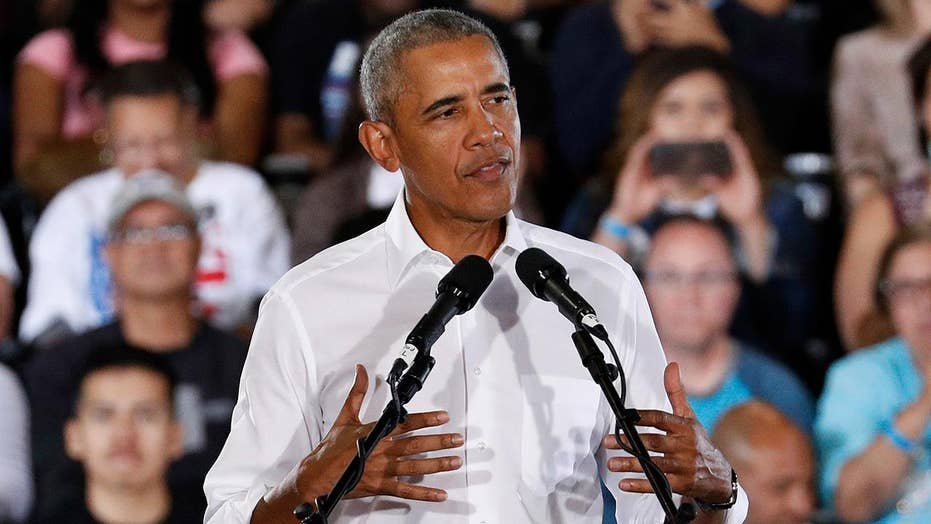 President Obama hits the campaign trail for Nevada Democratic candidates.