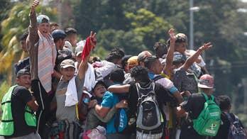 Trump vows to send troops to stop the migrant caravan