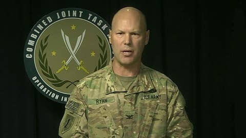 WATCH: Combined Joint Task Force Operation Inherent Resolve presser