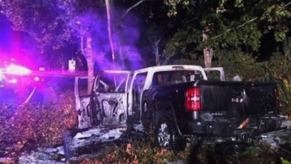 Good Samaritan saves three people from burning truck