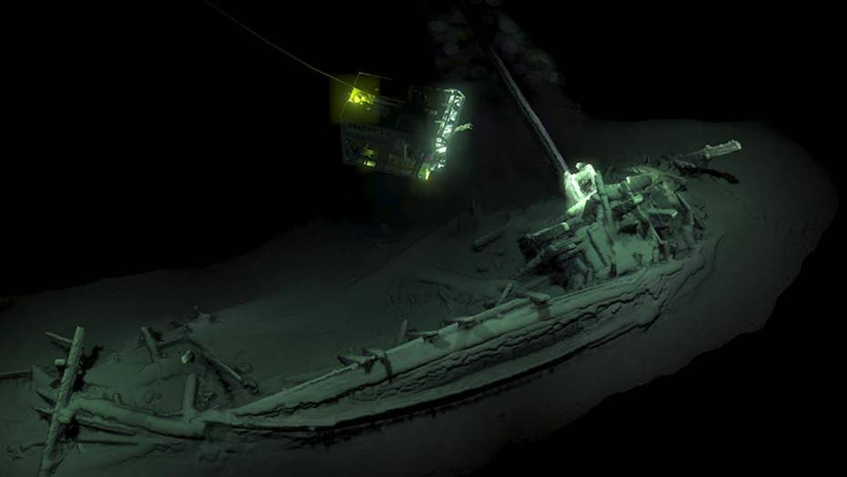 'Oldest intact' shipwreck found