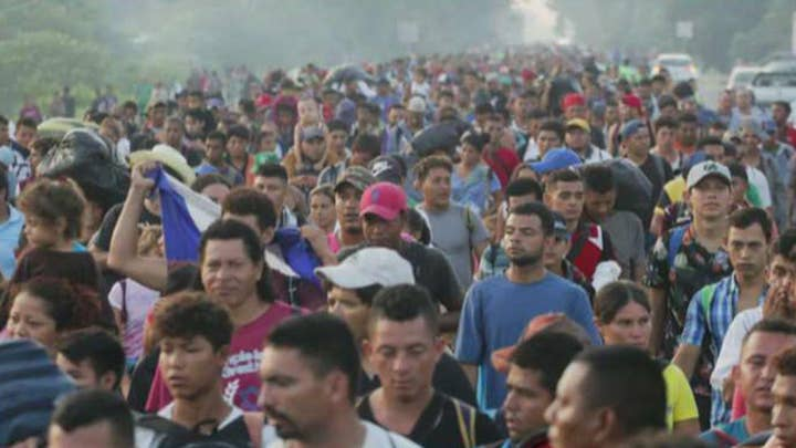 What caravan? Democrats conspicuously avoiding migrant march