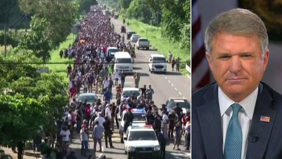 Rep. McCaul: We need to stop the caravan from entering U.S.