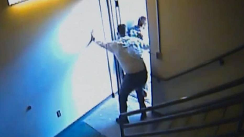 Amazing video: Judge chases escaping inmates