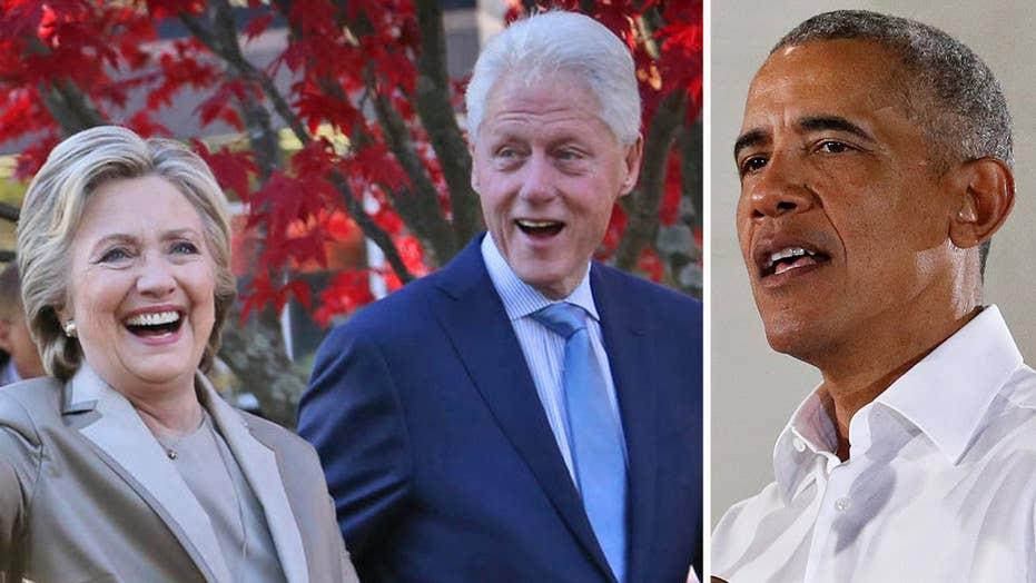 Secret Service intercepts suspicious packages sent to Obama, Hillary Clinton