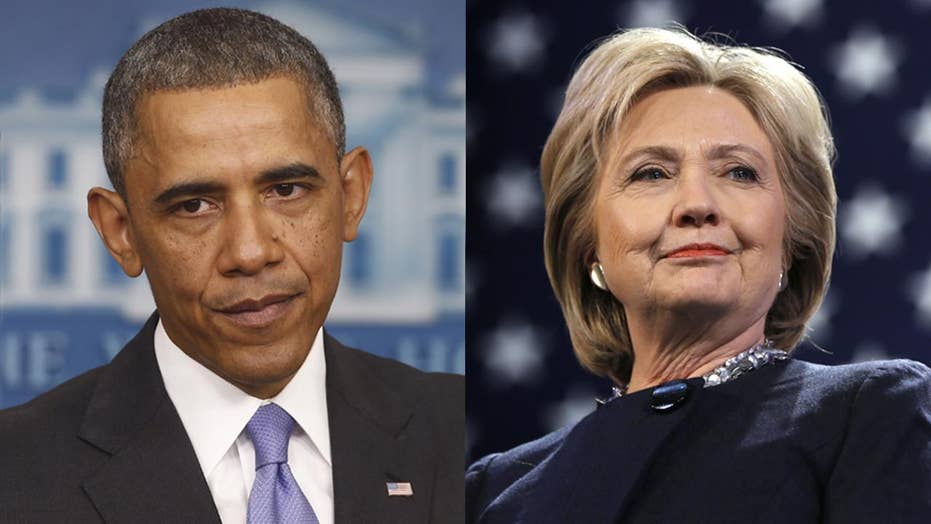 Suspicious packages sent to Obama, Clinton