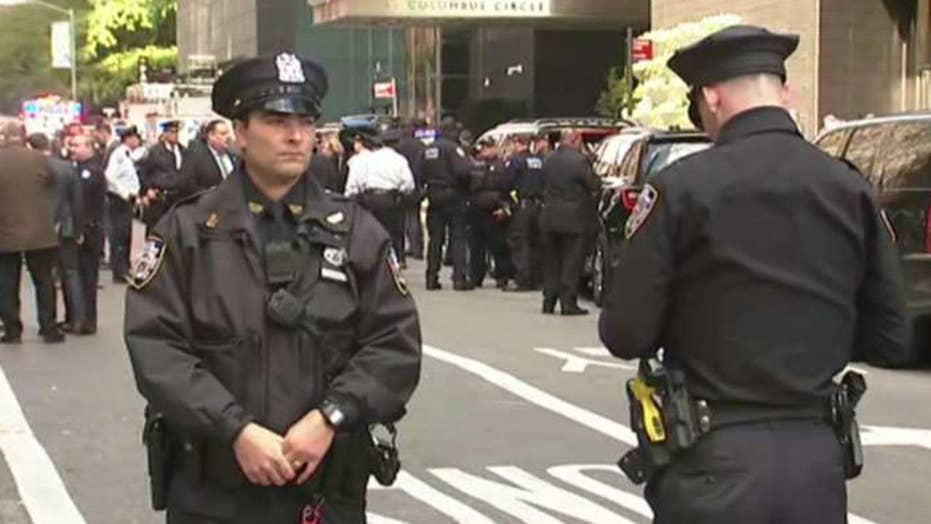 NYPD responds to suspicious package at Time Warner Center
