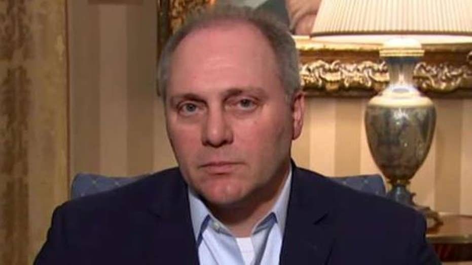 Rep. SteveScalise: Violence isn't the answer to political differences