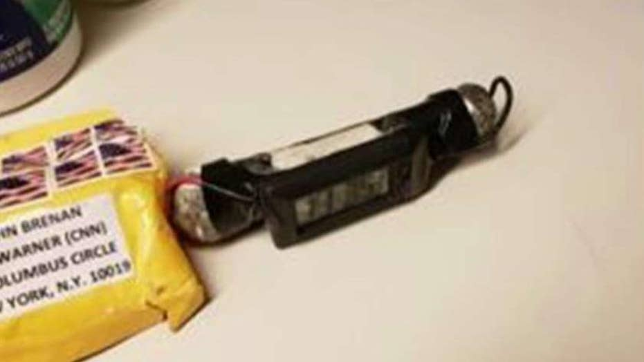 Were mailed pipe bombs designed to explode?