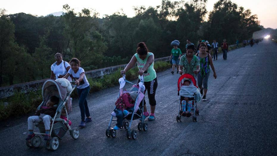 Napolitano: What the law says about approaching caravan