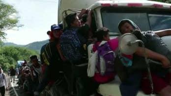 How would executive order to block migrant caravan work?