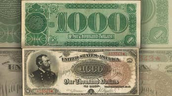'Holy Grail of paper money' sells at auction for $2M