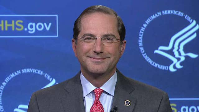 HHS secretary on plan to lower Medicare prescription costs