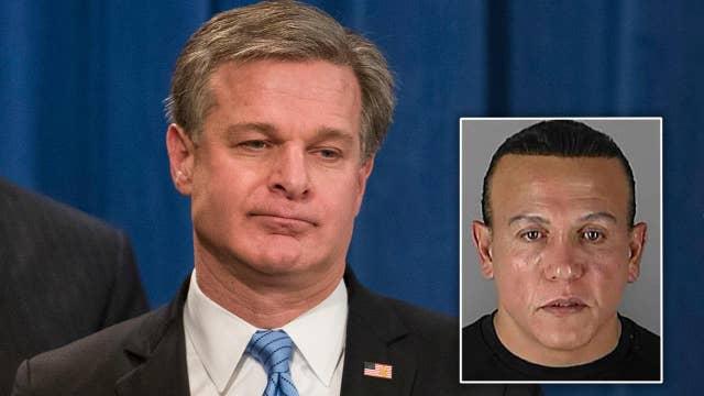 Wray: DNA, fingerprint evidence led to mail bomb suspect
