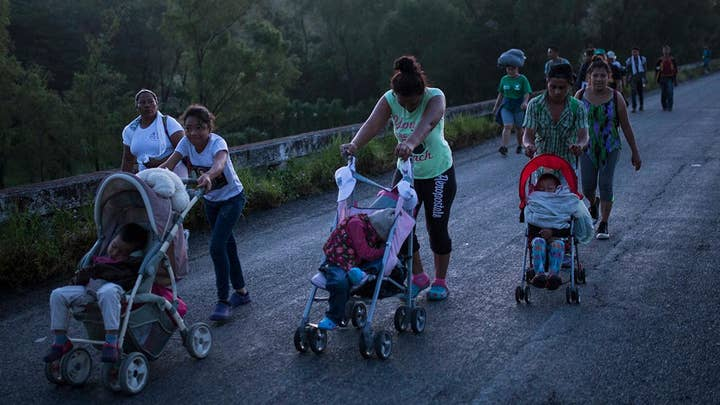 Migrants say poor living conditions are forcing them to US