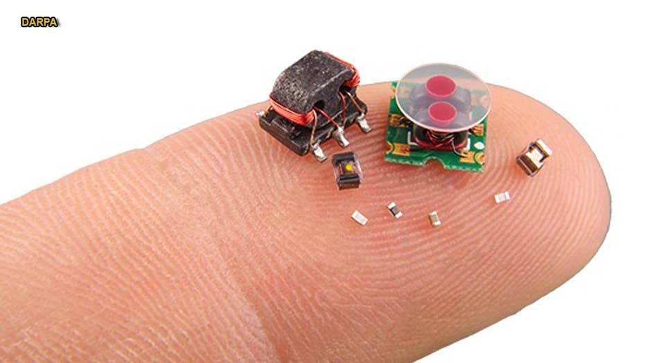 Micro-bot swarms set to dominate future battlefields