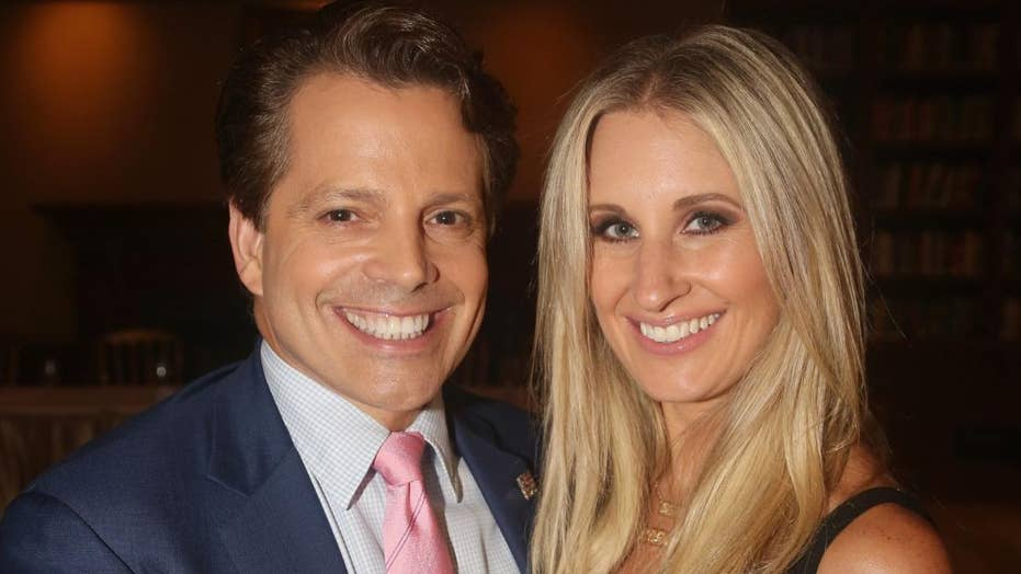 Anthony Scaramucci and wife, Deidre Ball, talk marriage