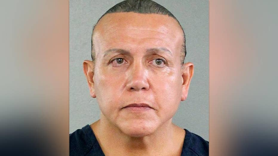 Mail bomb suspect Cesar Sayoc faces up to 58 years in prison