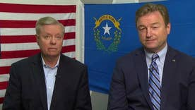 Sens. Heller, Graham on tight Senate race in Nevada