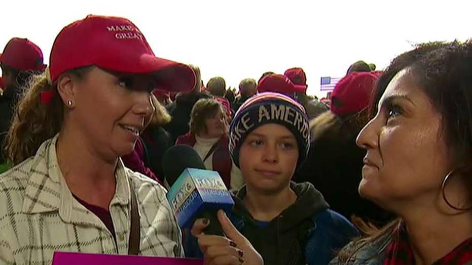 Wisconsin voters react to President Trump's rally