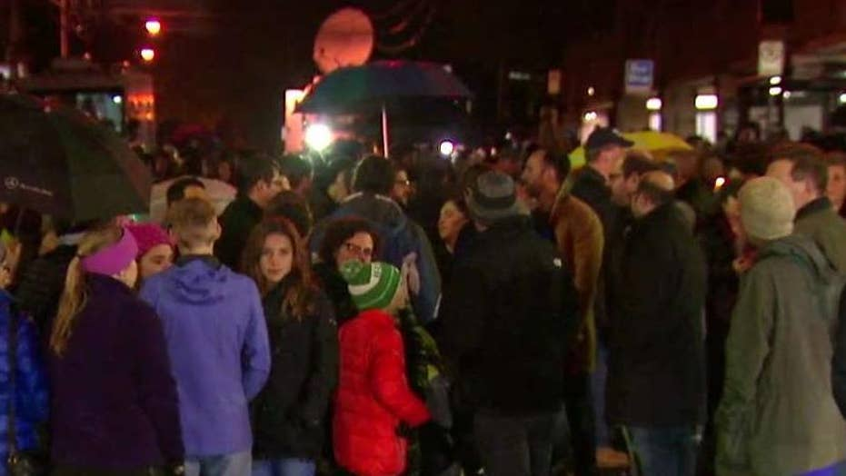 Vigil honors victims of Pittsburgh synagogue attack.