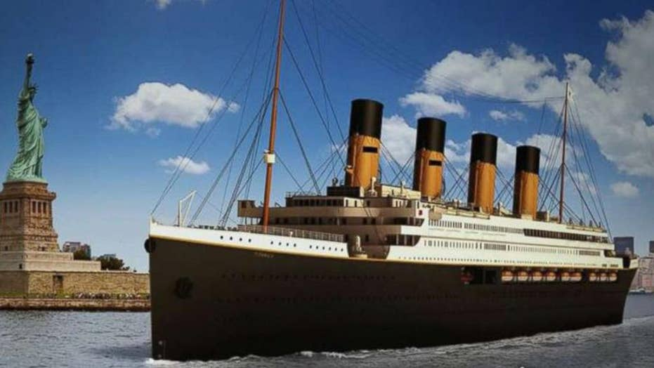 Titanic II plans to set sail in 2022
