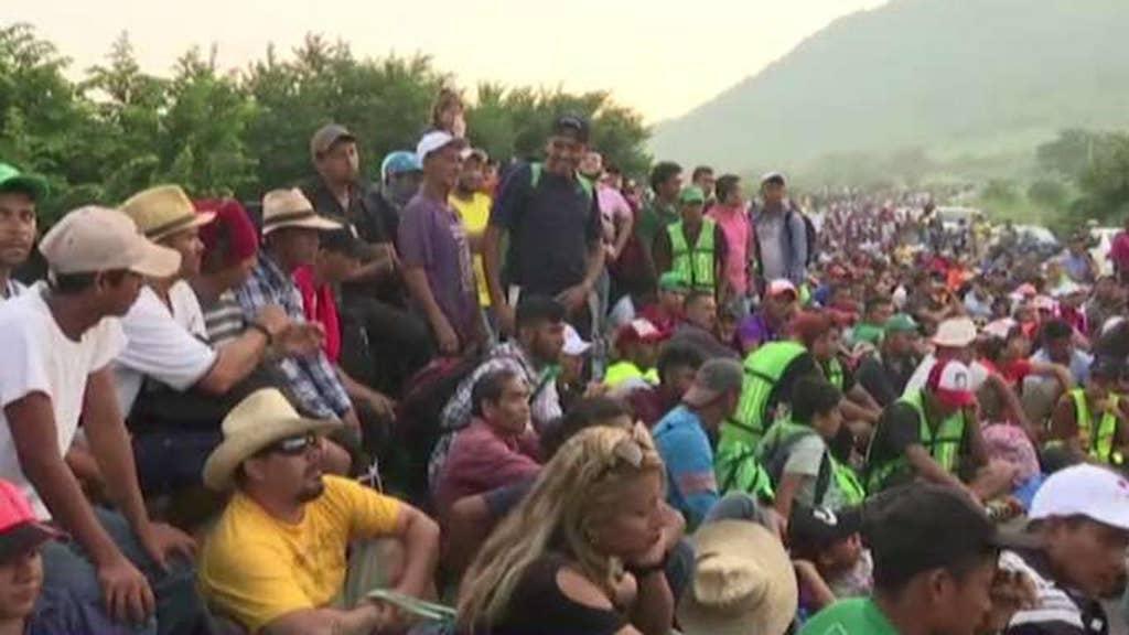 More troops heading to Mexico border in response to migrant caravan: Pentagon