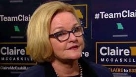 Sen. Claire McCaskill on challenge from Josh Hawley