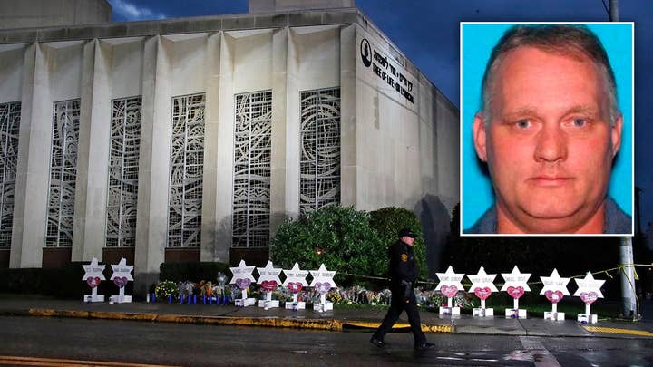 Suspect in synagogue massacre makes first court appearance