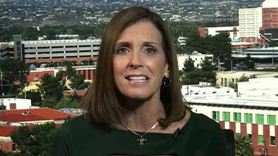 McSally: 'Radical' Sinema is out of touch with Arizona