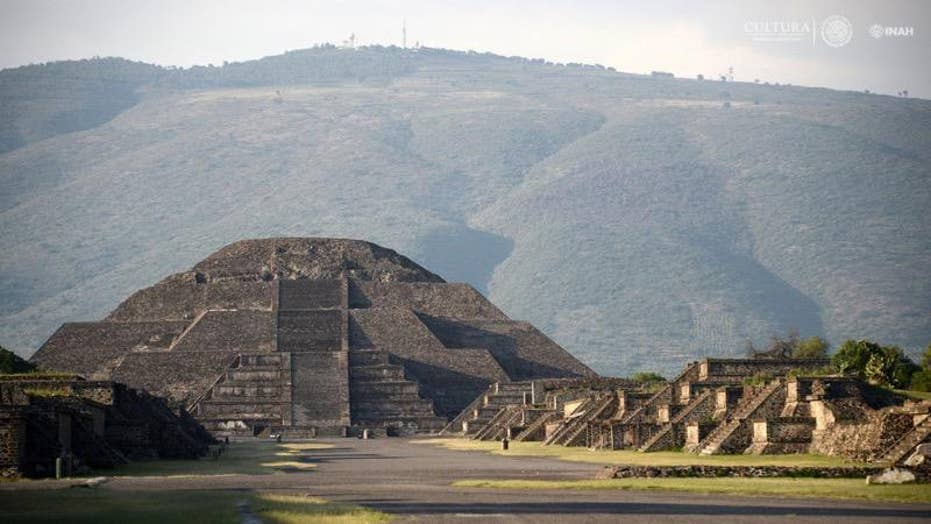 Hidden chamber and tunnel found under Pyramid of the Moon