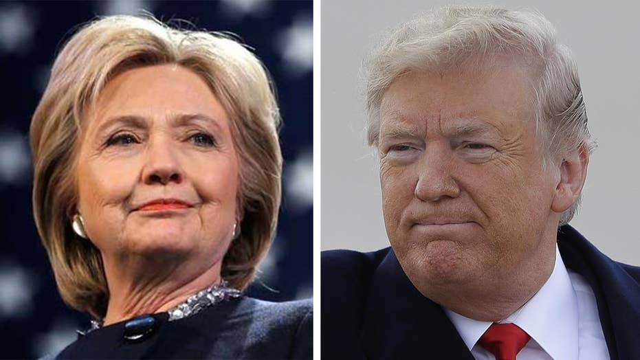 Does Hillary Clinton want a rematch with Donald Trump?
