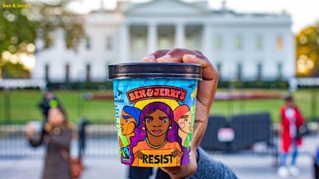 Ben & Jerry's new anti-Trump ice cream, 'Pecan Resist'