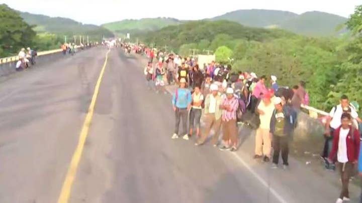 Two more migrant caravans form in Central America