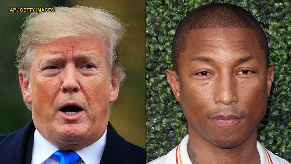 Pharrell Williams sends Trump cease-and-desist letter