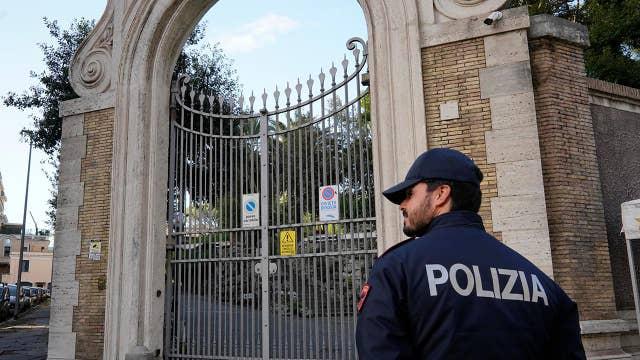 Bone fragments found near Vatican embassy in Rome