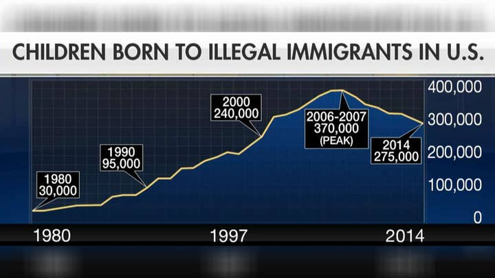 President Trump takes aim at birthright citizenship