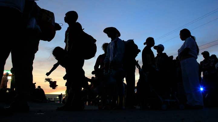 Second caravan crosses southern Mexico border