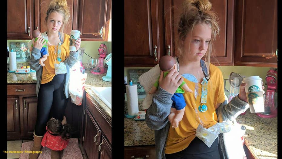 New Mexico Teenager Praised For Perfect Tired Mom Costume