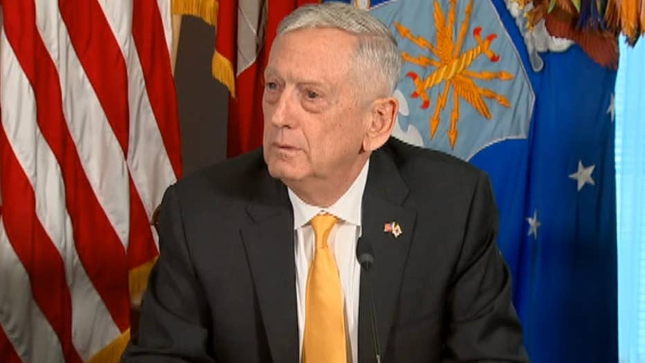 Mattis on troops sent to border: 'We don't do stunts'