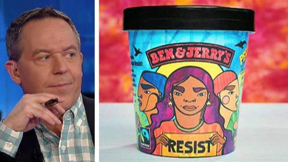 Gutfeld on Ben & Jerry's new flavor
