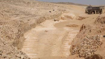 Archaeologists discover possible ramp used to build Great Pyramid