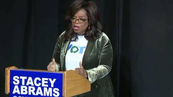 Oprah campaigns for Stacey Abrams, as star power hits the stump in final midterm stretch